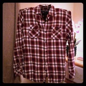 Lrg Men's Button Up Shirt